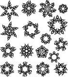 Татуировка Солнце, пылает племенной дизайн иллюстрация вектора
