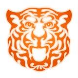 Татуировка тигра огня Стоковые Изображения