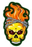 Татуировка черепа Стоковые Фотографии RF
