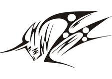 Татуировка Bull иллюстрация вектора
