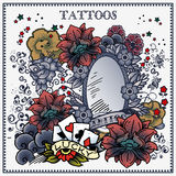 Татуировки Стоковое Фото