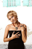 тахта звенит турецкая женщина стоковые фото