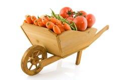 тачка овощей Стоковые Фото