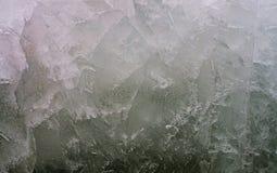 таяния весны льда утки Справочная информация Стоковая Фотография RF
