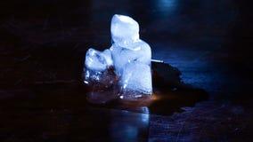 Таять льда куба Timelapse акции видеоматериалы