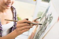 Талантливый художник Стоковое Изображение