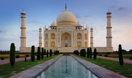 Тадж-Махал, Агра, Индия Стоковые Изображения RF