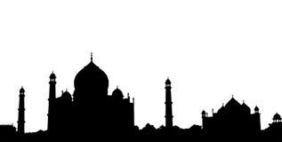 Тадж-Махал стоковое изображение