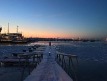 Таллин, Балтийское море Стоковая Фотография