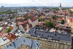 Таллин, capitel Эстонии, ywar 2014 Стоковые Фото