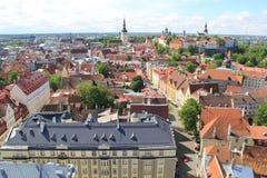 Таллин, capitel Эстонии, ywar 2014 Стоковая Фотография
