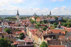 Таллин, capitel Эстонии, ywar 2014 Стоковое Фото