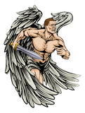 Талисман ангела ратника бесплатная иллюстрация