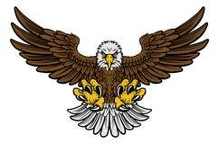 Талисман белоголового орлана иллюстрация вектора