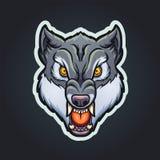 Талисман волка иллюстрация вектора