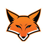 Талисман головы Fox иллюстрация штока