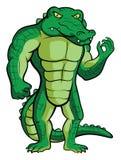 Талисман крокодила иллюстрация вектора