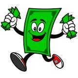 Талисман доллара с деньгами бесплатная иллюстрация
