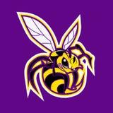 Талисман пчелы Желтая куртка Стоковое фото RF