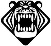 Талисман тигра головной Стоковое Изображение