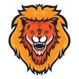 Талисман льва головной Стоковое фото RF