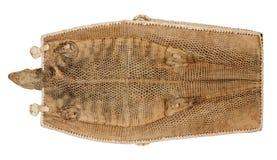 Талисман ящерицы кожаный handmade Стоковая Фотография