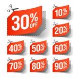 Талоны продажи Стоковая Фотография RF