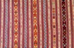 ТБИЛИСИ, GEORGIA, март 2017 - красочный ковер с с beauti Стоковые Фотографии RF