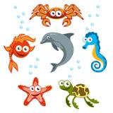 Твари моря Стоковое Изображение