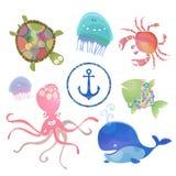 Твари моря Стоковая Фотография RF
