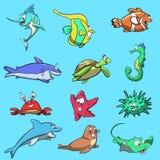 Твари моря Стоковые Фотографии RF