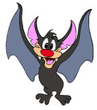 Тварь Halloween летучей мыши вампира Бесплатная Иллюстрация