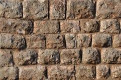 твердая каменная стена Стоковые Фото