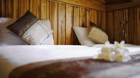 Твиновская кровать Стоковая Фотография