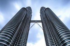 Твин-Тауэрс #1 Petronas Стоковые Изображения