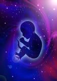 Творение вселенной Стоковое фото RF