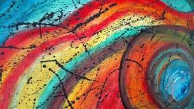 Творение радуги Стоковое Изображение