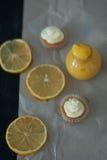 Творог лимона Стоковое Изображение