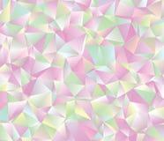 Творческая абстрактная иллюстрация multycolor полигона ART зажима вектора Стоковое фото RF