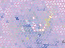Творческая абстрактная розовая иллюстрация с звездами Запятнанное влияние полутонового изображения ART зажима вектора Стоковые Фотографии RF