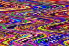 Творческая волнистая красочная предпосылка стоковое фото
