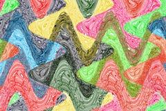 Творческая волнистая красочная предпосылка стоковые фотографии rf
