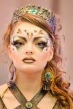Творческая выставка состава на празднестве красотки Стоковая Фотография