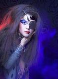 Творческая девушка Стоковые Изображения