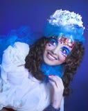 Творческая девушка. стоковая фотография rf