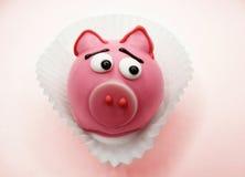 Творческая еда испечет для формы животного свиньи ребенка смешной Стоковые Фотографии RF