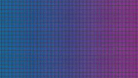 Творческая иллюстрация вектора текстуры приведенной макроса экрана изолированная на прозрачной предпосылке Диод rgb дизайна искус иллюстрация вектора