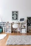 Творческая идея домашнего офиса Стоковое Изображение