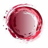 Творческая и первоначально предпосылка, значок воды Цикл воды потоки розовой воды иллюстрация пожара конструкции черноты шарика п Стоковые Изображения