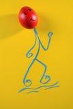 Творческая и смешная концепция изображения пасхи. Стоковая Фотография